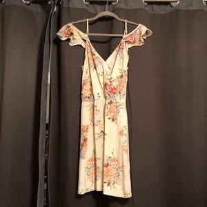 Joie Floral Silk Mini Dress